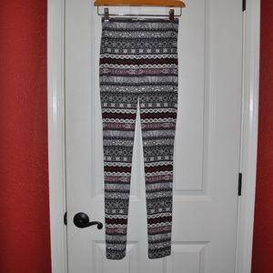 ec3ee6b51f5c9 Bethany Mota Pants - BETHANY MOTA Fair Isle Striped Leggings E8